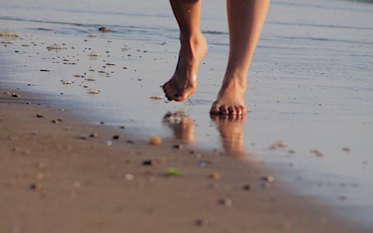 andar descalzo sueños